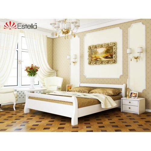 Деревянная кровать Диана цвет 107 (Белая) щит 80*190