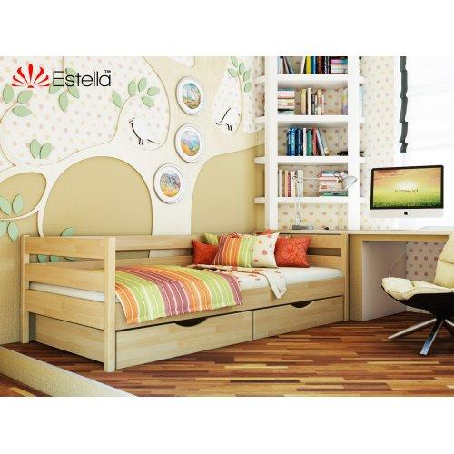 Деревянная кровать Нота Бук щит 80*190