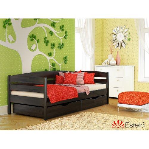 Деревянная кровать Нота Плюс Бук щит 80*190
