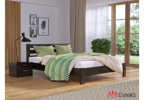 Деревянная кровать Рената Люкс Бук щит 80*190