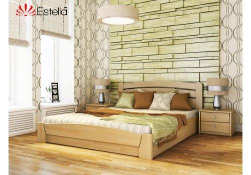 Деревянная кровать Селена Аури Бук щит 120*190