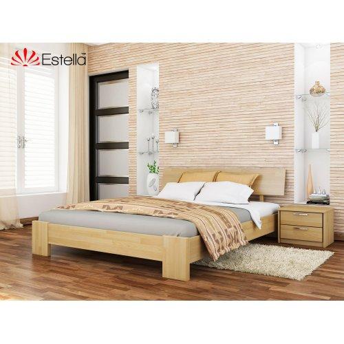 Деревянная кровать Титан Бук щит 120*190