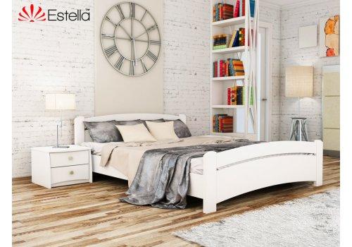 Деревянная кровать Венеция цвет 107 (Белая) щит 80*190