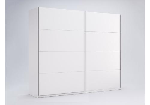 ШАФА-КУПЕ Фемелі 1,5м (*Двері Глянець*) колір Глянець Білий MiroMark