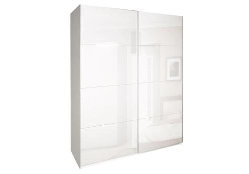 ШАФА-КУПЕ Імперія 1,5м (*Двері Глянець Білий*) колір Глянець Білий MiroMark