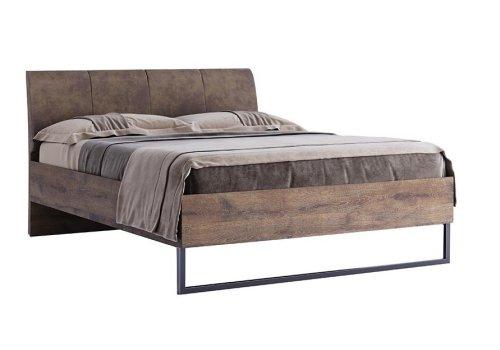 Кровать Квадро с ортопедическим матрасом Мехико размер 160*200