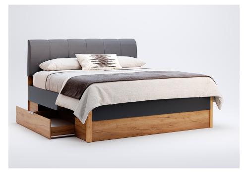 Кровать Рамона с ортопедическим матрасом Мехико размер 160*200