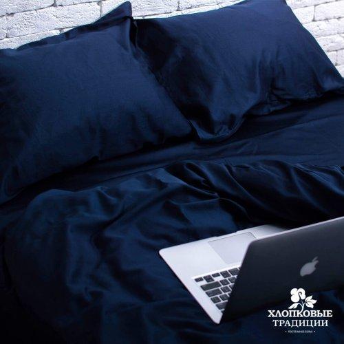 Комплект постельного белья Хлопковые Традиции дизайн 1 • Сатин • Полуторный Сатин Турция • 100% Хлопок • Наволочки 50х70