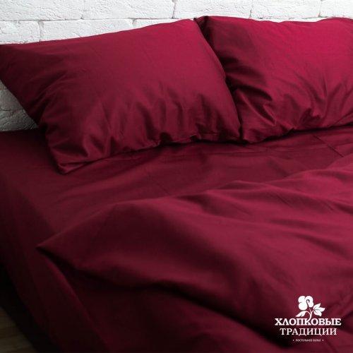 Комплект постельного белья Хлопковые Традиции дизайн 2 • Сатин • Полуторный Сатин Турция • 100% Хлопок • Наволочки 50х70