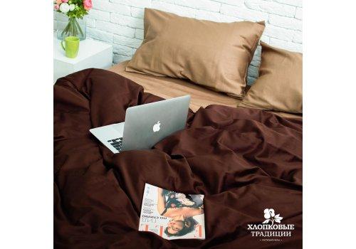 Комплект постельного белья Хлопковые Традиции дизайн 10 • Сатин • Полуторный Сатин Турция • 100% Хлопок • Наволочки 50х70
