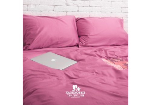 Комплект постельного белья Хлопковые Традиции дизайн 11 • Сатин • Полуторный Сатин Турция • 100% Хлопок • Наволочки 50х70