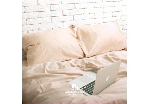 Комплект постельного белья Хлопковые Традиции дизайн 12 • Сатин • Полуторный Сатин Турция • 100% Хлопок • Наволочки 50х70