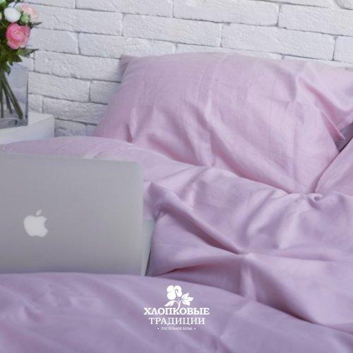 Комплект постельного белья Хлопковые Традиции дизайн 14 • Сатин • Полуторный Сатин Турция • 100% Хлопок • Наволочки 50х70