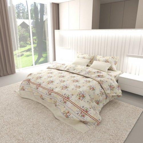 Комплект постельного белья N-Tex дизайн n-6815 • Бязь Голд • Двуспальный Бязь Голд Пакистан • Хлопок • Наволочки 70х70