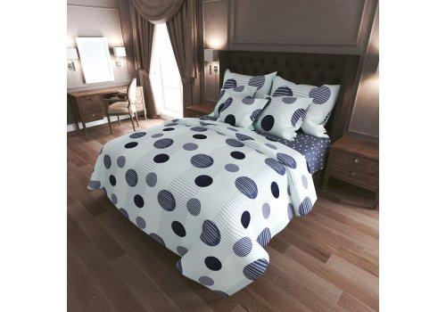 Комплект постельного белья N-Tex дизайн n-7420-a-b • Бязь Голд • Семейный Бязь Голд Пакистан • Хлопок • Наволочки 70х70