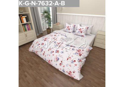Комплект постельного белья N-Tex дизайн n-7632 • Бязь Голд • Полуторный Бязь Голд Пакистан • Хлопок • Наволочки 70х70