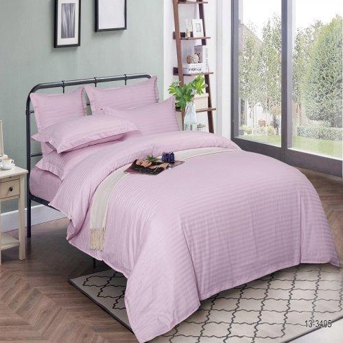 Комплект постельного белья N-Tex дизайн 13-3405-st  • Страйп-Сатин • Полуторный Страйп-Сатин Китай • Наволочки 50х70 и 70х70