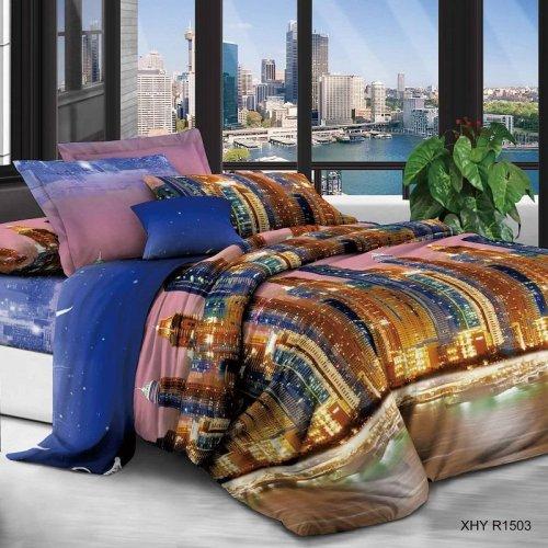 Комплект постельного белья N-Tex дизайн xhyr-1503  • Полиэстер • Двуспальный Полиэстер Китай • Наволочки 70х70