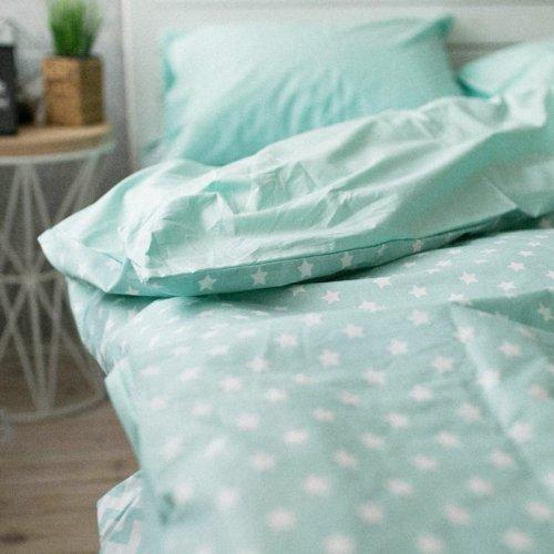 Комплект постельного белья Хлопковые Традиции дизайн 16 • Поплин • Полуторный Поплин Турция • 100% Хлопок • Наволочки 50х70