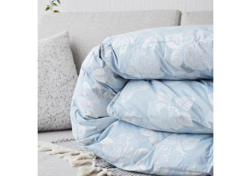Одеяло Натуральный Пух-Перо • Полуторное Тик • 100% Хлопок 95% Пух - 5% Перо 450 г/м?