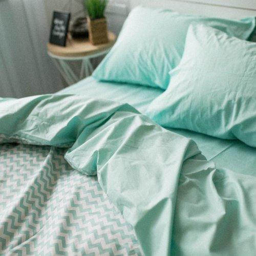 Комплект постельного белья Хлопковые Традиции дизайн 12 • Поплин • Полуторный Поплин Турция • 100% Хлопок • Наволочки 50х70