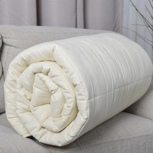 Одеяло Cleverson SheepPrime+ • Полуторное Микрофибра Овечья шерсть + Double Air Холлофайбер 300 г/м?