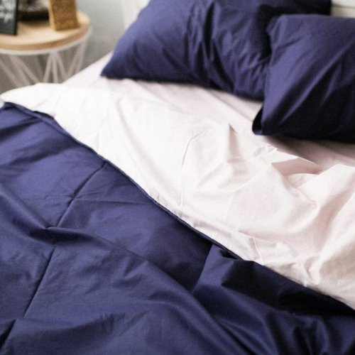 Комплект постельного белья Хлопковые Традиции дизайн 22 • Поплин • Полуторный Поплин Турция • 100% Хлопок • Наволочки 50х70