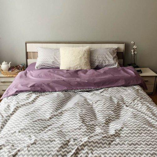 Комплект постельного белья Хлопковые Традиции дизайн PF067 • Поплин • Полуторный Поплин Турция • 100% Хлопок • Наволочки 50х70